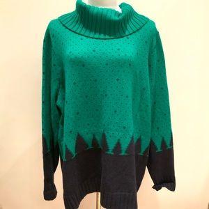 Talbots plus size 3X Turtleneck sweater